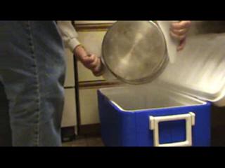 Hot Water Bath for Didymo Treatment