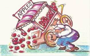 Upset Apple cart